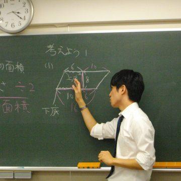 ポイントを置いて模擬実演してくれた田端さん