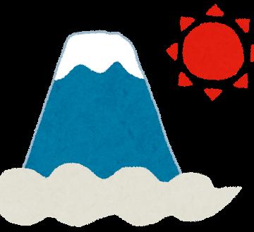 元旦富士山イメージ